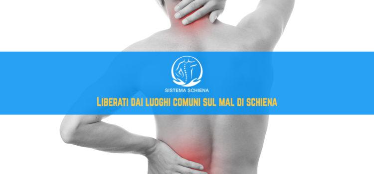 Mal di schiena: i luoghi comuni