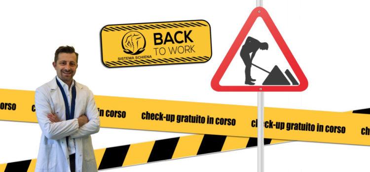 Ritorno al lavoro e mal di schiena: 1 italiano su 4 ne soffre